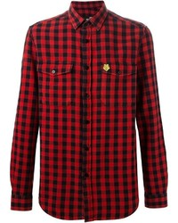 Love Moschino Gingham Check Shirt