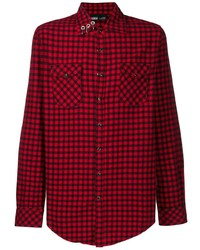 Vision Of Super Tartan Print Shirt
