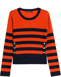 Bold striped cashmere pullover medium 424762