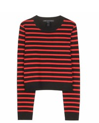 Marc by Marc Jacobs Jacquelyn Striped Wool Sweater