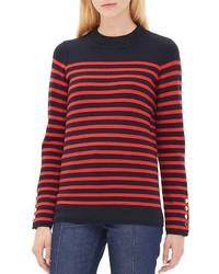 Sandro Smila Striped Sweater