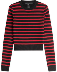 Marc by Marc Jacobs Striped Merino Wool Pullover