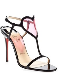 Christian Louboutin Cora Patent Leather Sandal