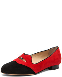 Red and black loafers original 10976463