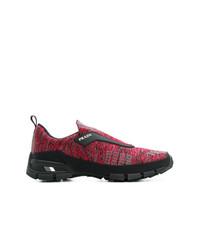 Prada Cross Action Slip On Sneakers