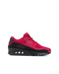 Nike Red Crush Air Max Sneakers