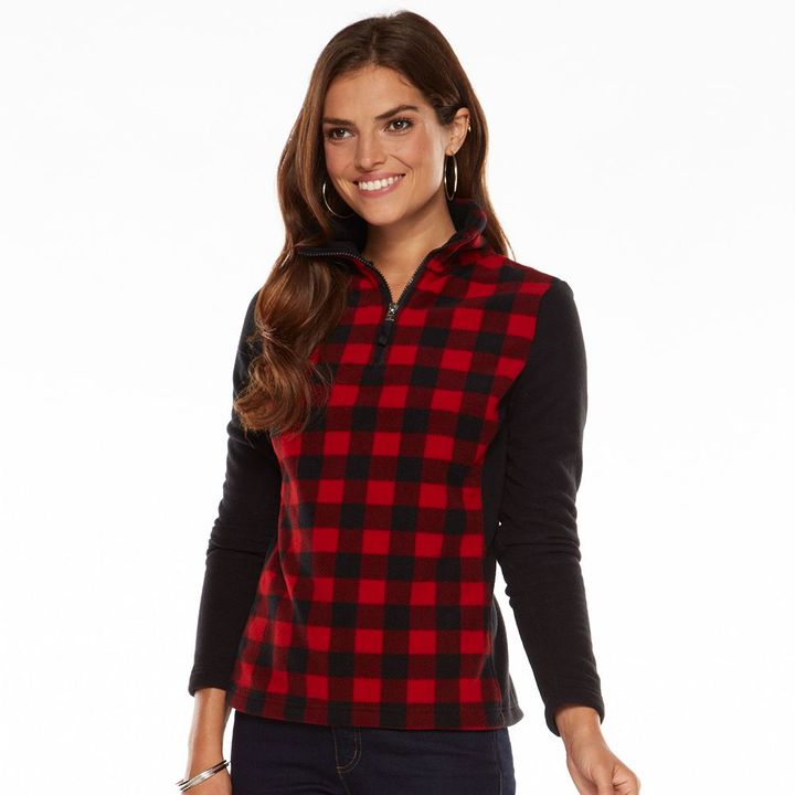 Chaps Plaid Fleece Jacket | Where to buy & how to wear