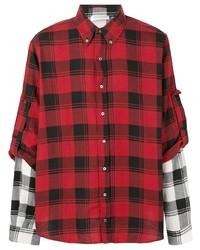 Faith Connexion Layered Plaid Shirt