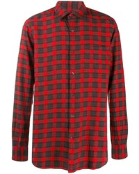 Aspesi Plaid Button Shirt