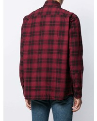 Calvin Klein Plaid Logo Shirt