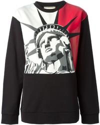 Fausto puglisi statue of liberty printed sweatshirt medium 126311