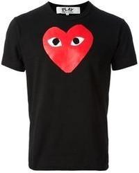Comme des Garcons Comme Des Garons Play Printed Heart T Shirt