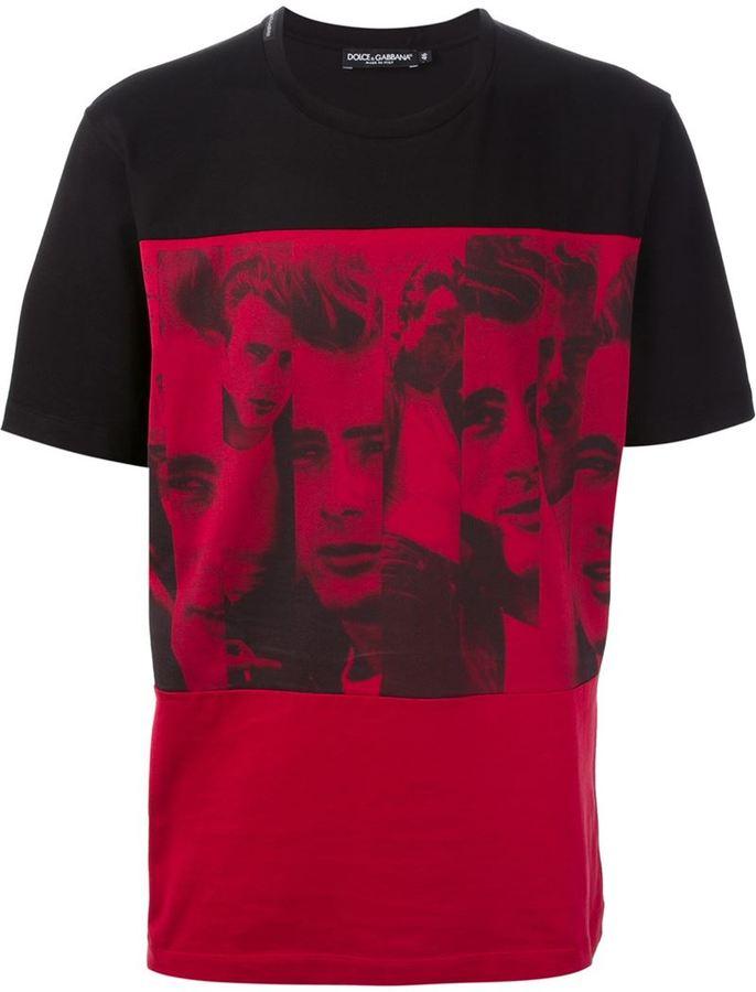 dolce gabbana james dean t shirt sale   OFF46% Discounts efcb01db227c