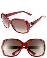 Gucci 60mm Sunglasses Havana