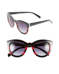 A.J. Morgan Collette Sunglasses Black Red One Size