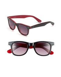 Polaroid Eyewear Retro Polarized Sunglasses Black Red One Size