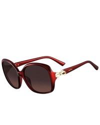 Valentino Sunglasses V640s 613 Red 55mm