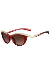 Valentino Sunglasses V643sr 613 Red 54mm