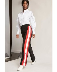 Forever 21 Striped Tearaway Pants