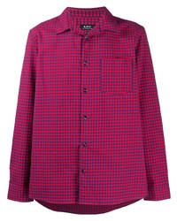 A.P.C. Jules Mini Plaid Shirt