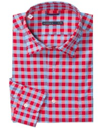 Mason S Cotton Check Sport Shirt