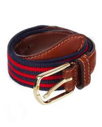 American apparel striped web belt medium 212962