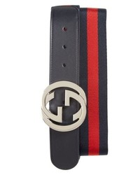 Gucci Logo Interlock Belt