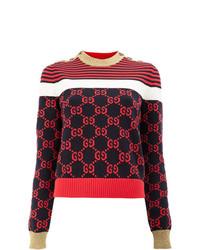 Gucci Gg Patterned Sweater