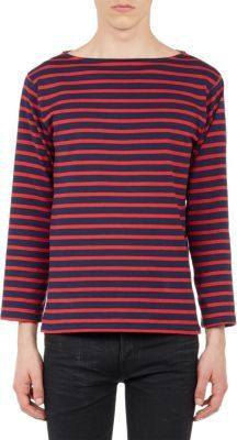 Saint Laurent Stripe Sweater Blue | Where to buy & how to wear