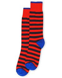 Lorenzo Uomo Stripe Dress Socks
