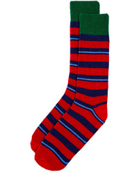 Punto Variegated Stripe Socks