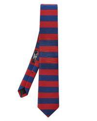 Burberry Prorsum Striped Silk Tie