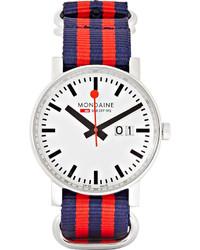 Evo big date stainless steel watch medium 265475