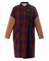Blanket wool coat medium 141679