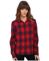 Redwood long sleeve button down medium 346780