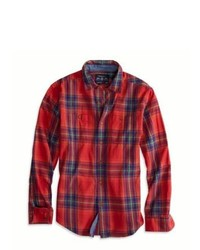 American Eagle Outfitters Plaid Workwear Shirt Xxxl