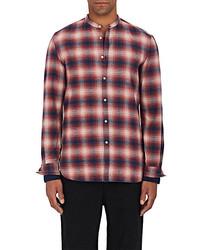 Eidos Plaid Cotton Flannel Shirt