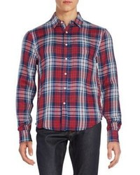Joe's Jeans Relaxed Fit Plaid Cotton Sportshirt