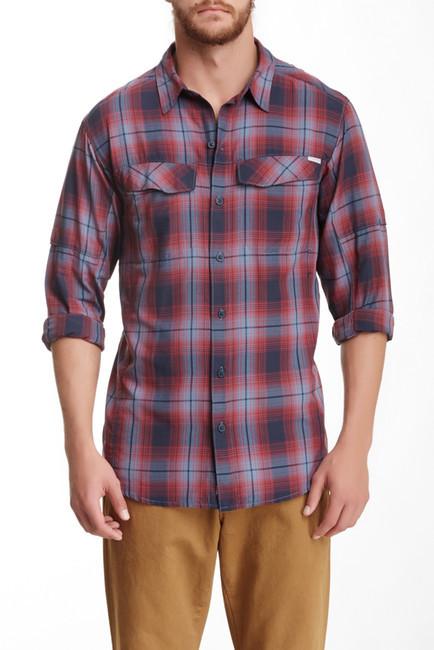 Men s Silver Ridge Plaid Long Sleeve Shirt