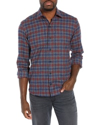 Culturata Supersoft Tailored Fit Check Sport Shirt