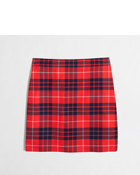 Factory plaid mini skirt medium 124015