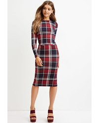 Tartan plaid pencil skirt medium 375783
