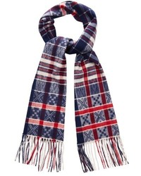 Begg co jura tartan wool blend scarf medium 388866