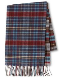 Merona Cold Weather Scarf Multicolor Plaid Tm