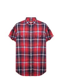 R13 Checked Shortsleeved Shirt