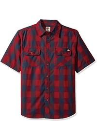 Dickies Short Sleeve Buffalo Plaid Shirt