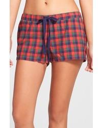 Flannel shorts medium 124538