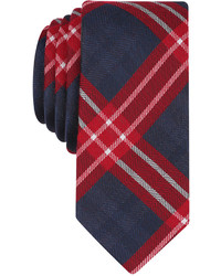 Bar III Albina Plaid Skinny Tie Created For Macys