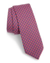 Vineyard Vines Tradewinds Kennedy Check Stretch Cotton Tie