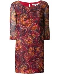 Elizabeth and james printed shift dress medium 128066